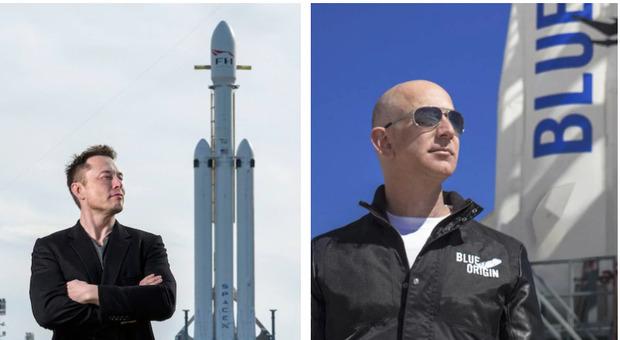 Luna, Bezos fa causa alla Nasa per la scelta di SpaceX di Musk