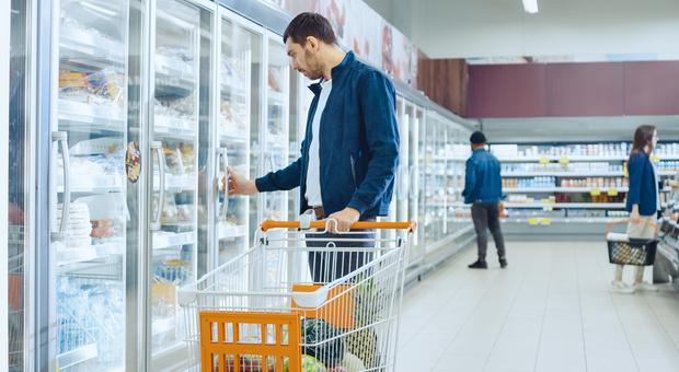 Raddoppiano i prodotti surgelati nella spesa dei millennials
