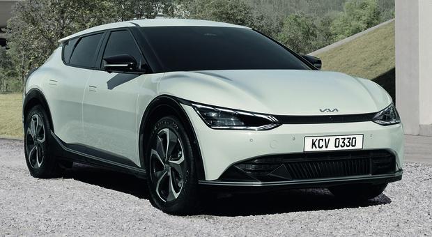 La nuova Kia EV6 elettrica
