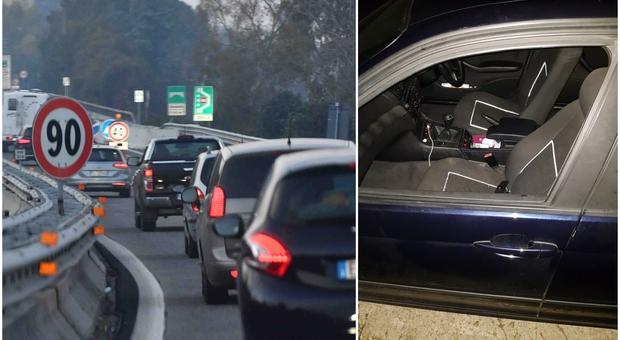 Londra, per girare un video su Snapchat si sporge dal finestrino e cade in autostrada: «Viva per miracolo»