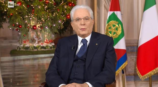 Mattarella, il messaggio di fine anno: «Pensiamo insieme al domani. Coesione, ridurre il divario Nord-Sud»