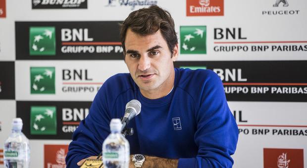 Il realismo di Federer: «Vincere? E' già tanto riuscire a essere in campo»
