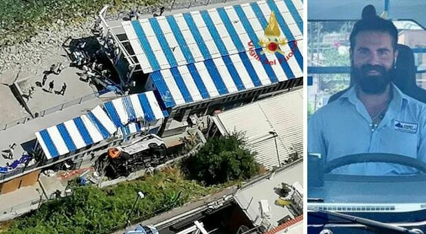 Capri, bus precipita: morto l'autista, 28 feriti. Bimbo in elicottero a Napoli. Giallo dinamica, il mezzo era in salita