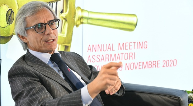 Stefano Messina, presidente Assarmatori
