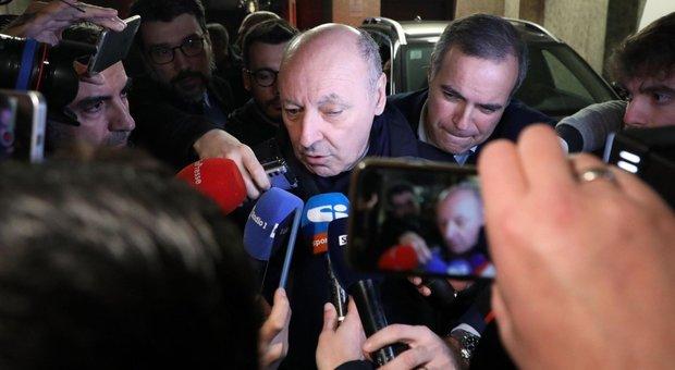 Coronavirus, Marotta: «Juve-Inter il 9 marzo ipotesi di buon senso»