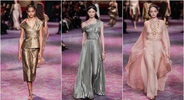 Dior sfila a Parigi tra le bandiere femministe: «E se le donne governassero il mondo?»