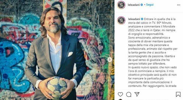 Lele Adani: «Con 90° Minuto entro nella storia del calcio»