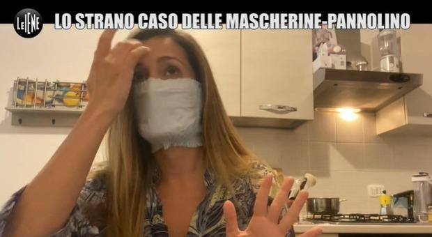 Mascherine-pannolino, assessore Ambiente Lombardia: «Non belle ma proteggono»