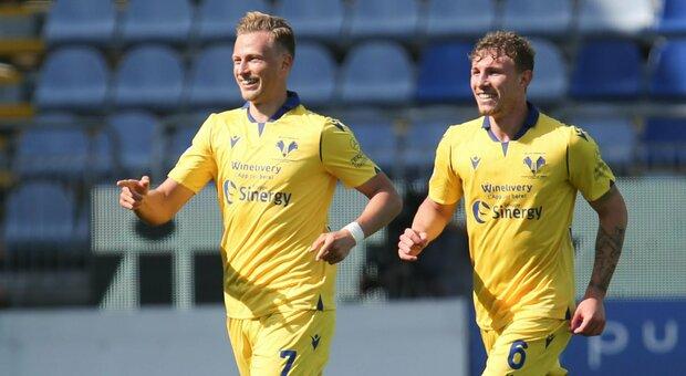 Cagliari-Verona 0-2: l'Hellas studia da grande, i rossoblù restano terz'ultimi