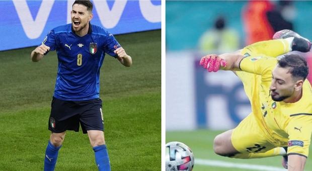 Italia-Spagna, Donnarumma superGigio e Jorginho: quegli undici metri di gloria