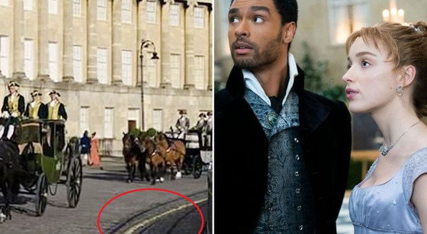 Bridgerton, dalle strisce gialle al poster di Primark: gli anacronismi scovati nella serie (come Il Trono di Spade)