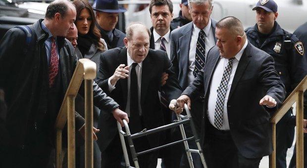 Processo Weinstein, si scatena la polemica sui giurati: «Troppi uomini bianchi»