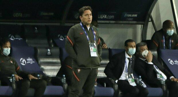 Europei Under 21, il discorso di Rui Jorge al Portogallo: «L'Italia è una squadra con un'anima enorme»