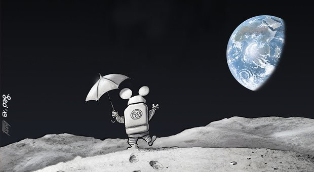 Intervista a Leo Ortolani: «Io e Rat-Man sulla Luna e nello spazio»