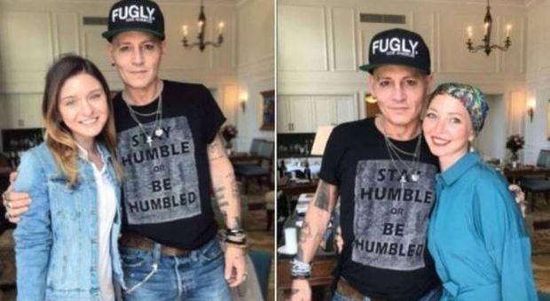Johnny Depp irriconoscibile perché interpreterà un malato di cancro nel  prossimo film 7c698c94cee9