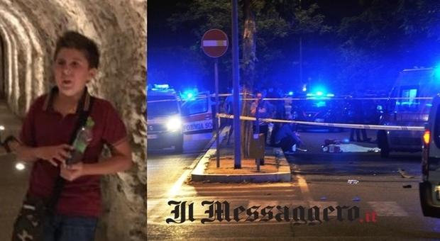 Roma, ragazzo investito all'Infernetto: è morto sul colpo (foto Mino Ippoliti)