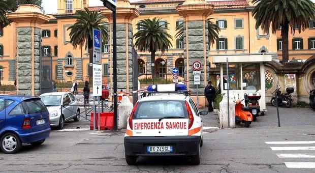 L'ingresso dell'ospedale San Camillo