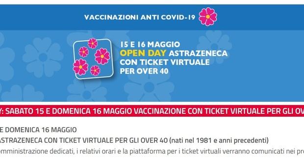 Vaccino AstraZeneca, l'open day a Latina e Formia il 15 e 16 maggio dalle 19 alle 24: si prenota con una app