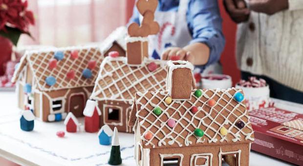 Orvieto, la magia del Natale esiste ancora e porta la casetta di biscotto tanto desiderata
