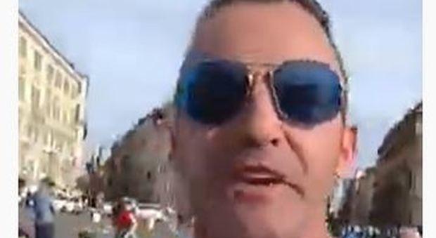 Nicola Franzoni, dopo la denuncia per il corteo di sabato insulti e minacce: «Vi scateno la rivoluzione»