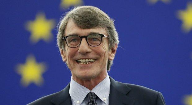 Parlamento europeo, 325 voti per Sassoli: 7 in meno per l'elezione
