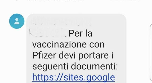 Caos vaccino per i cinquantenni a Orvieto. Tutta colpa dell'sms con la data che non arriva, ma arriva quello dei documenti