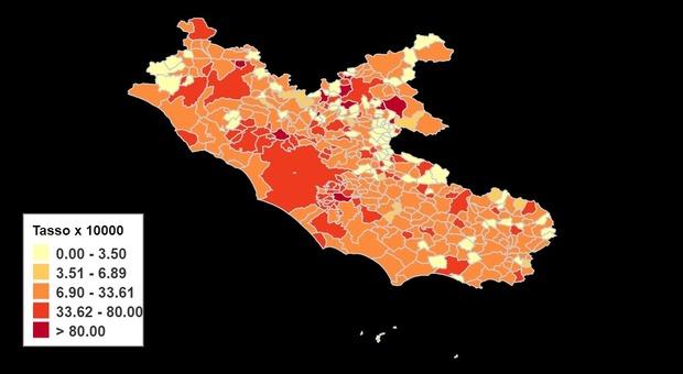 Covid, giornata nera per il Lazio: in provincia di Frosinone 268 nuovi casi positivi e un morto