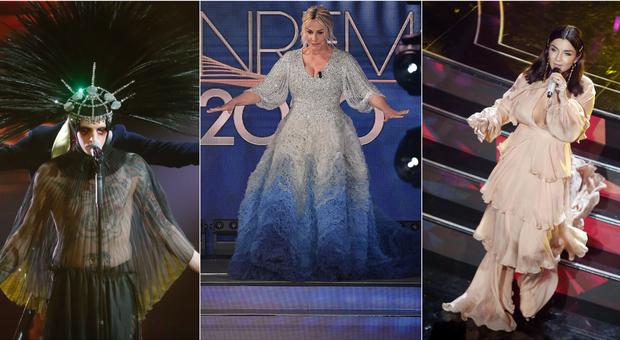 Sanremo 2020, pagelle look quarta serata