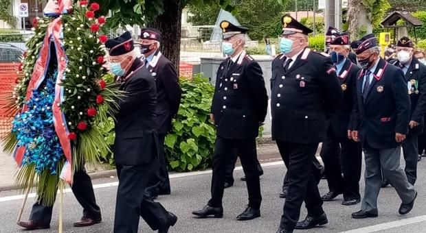 """L'Associazione nazionale carabinieri """"Sezione Borgorose-Valle del Salto"""" festeggia il 207° anniversario dell'Arma"""