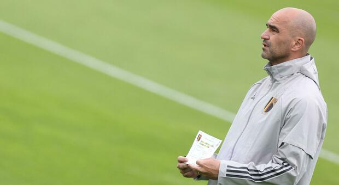 Belgio-Italia, Martinez: «De Bruyne e Hazard? Difficile giochino»