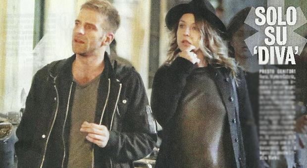 Myriam Catania incinta con il fidanzato Quentin