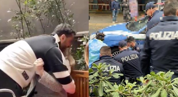 Fabrizio Corona arrestato, il pianto disperato di mamma Gabriella: «Non te ne andare». Poi l'ammanettamento a terra. Il video choc