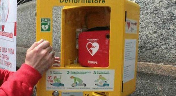 Isola del Liri, ecco la prima postazione salvavita dotata di defibrillatore