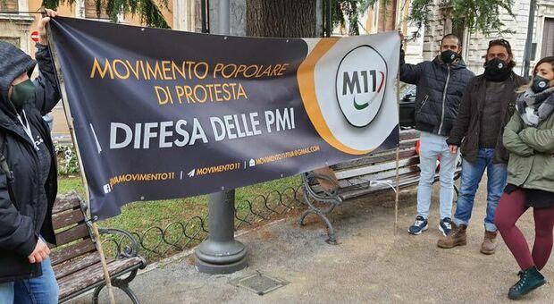 Partite iva ancora in piazza a Perugia: «Regione e Governo ci ascoltino»