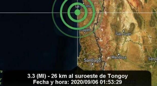 Terremoto in Cile di 6.5: la scossa ripresa dalle telecamere di sorveglianza
