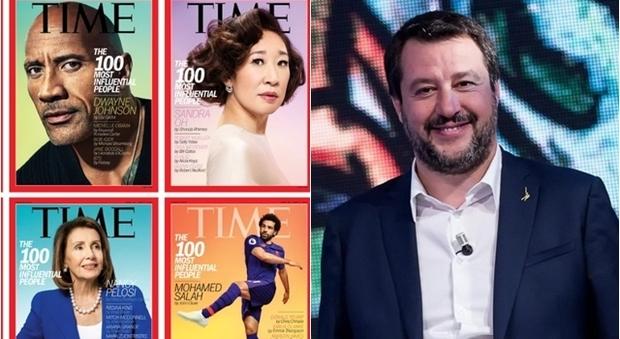 Matteo Salvini tra le 100 persone più influenti al mondo per Time