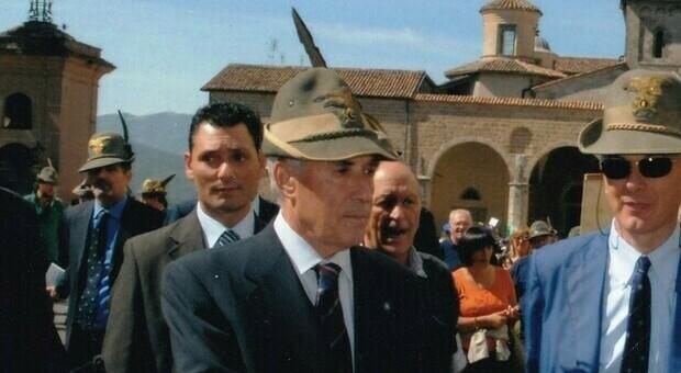 Franco Marini a Rieti