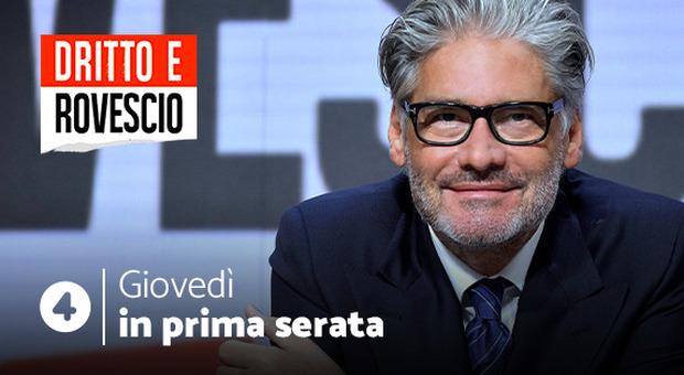 Stasera in tv su Rete4, Dritto e Rovescio di Paolo Del Debbio: tutti gli ospiti