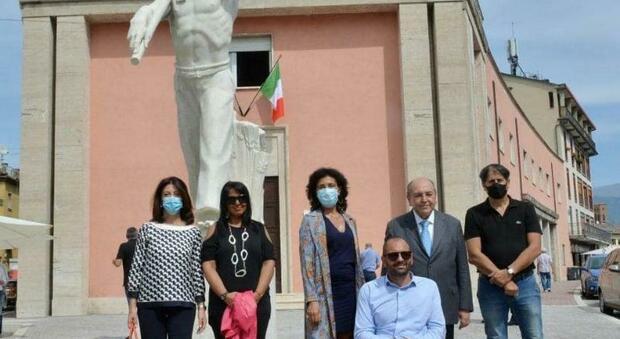 Il saluto del presidente della Provincia e del sindaco di Rieti al prefetto Reggiani
