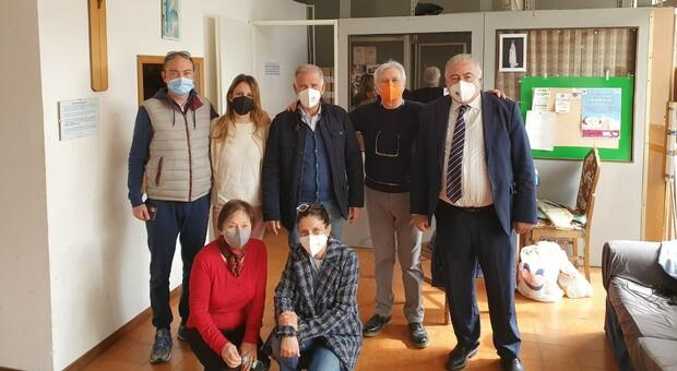 Emergenza covid, la Cisl di Latina dona generi alimentari alla Caritas