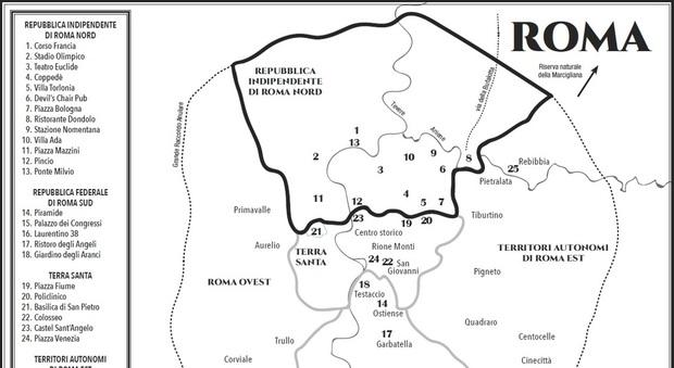 Centro Storico Cartina Geografica Roma.L Eterno Inutile Appassionato Dibattito Sui Confini Di Roma Nord