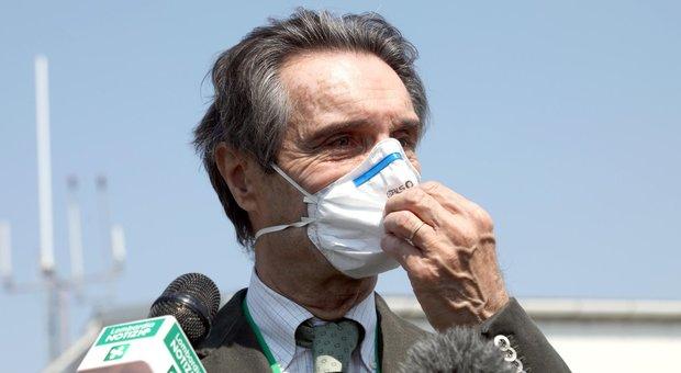 Fontana: «Riapertura il 4 maggio con ok della scienza. I malati Covid nelle Rsa? Fu proposto dai tecnici »