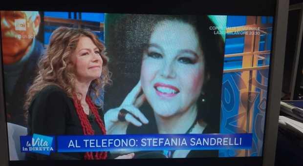 Amanda Sandrelli, telefonata a sorpresa di Stefania Sandrelli a La ...