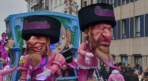 «Carri di carnevale razzisti con le caricature ebraiche»: l'Unesco cancella la sfilata belga di Aalst