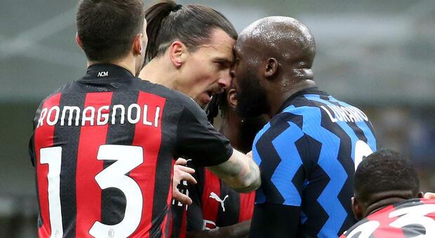 Inter-Milan ad alta tensione: lite Lukaku-Ibra a fine primo tempo