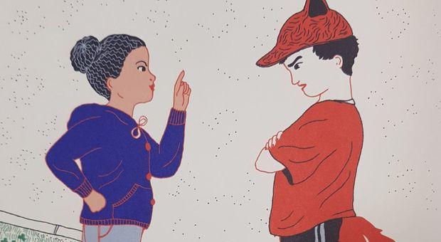 Cappuccetto Rosso diventa Blu e sfida il lupo: la favola per bambine che non hanno paura