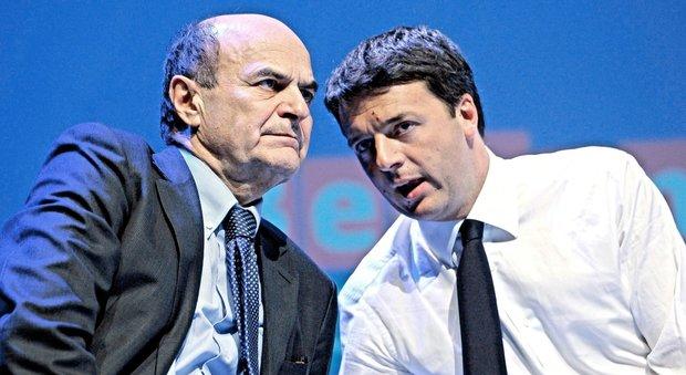 """Pd, Bersani: «I cori """"Fuori, fuori"""" dei leopoldini? Risparmino il fiato»"""