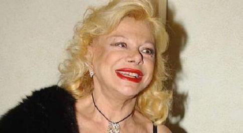 L'attrice Sandra Milo