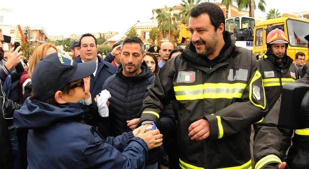 Maltempo, Salvini: «Faremo interventi senza precedenti». In settimana il Cdm