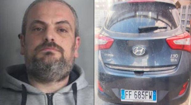 Evade dai domiciliari e dà fuoco all'auto con dentro l'ex moglie: caccia all'uomo in Calabria
